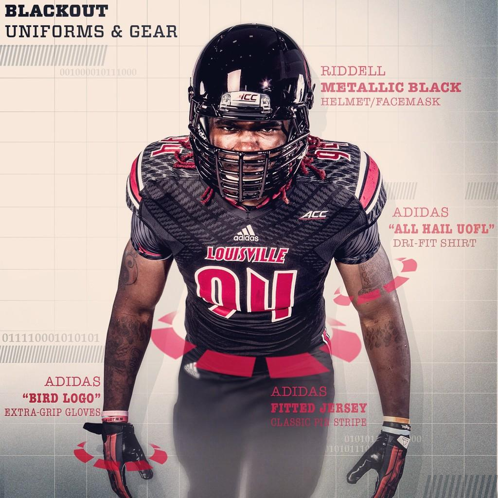 innovative design 0d208 27307 Louisville Reveals Black Uniforms for Miami Game – Cardinal ...