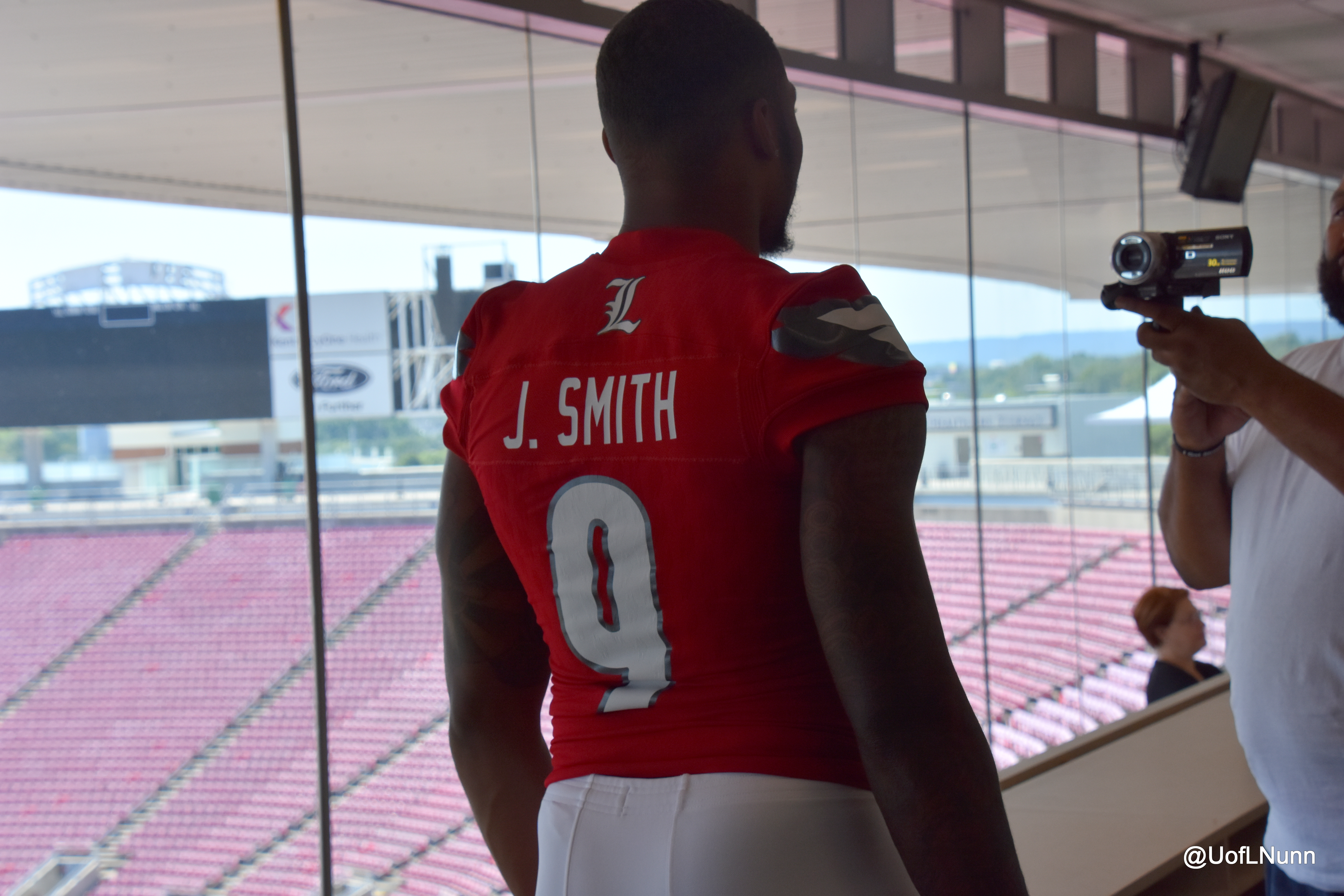 super popular 3547b 62cff Jaylen Smith Talks With Marty Smith About His Jersey Number ...
